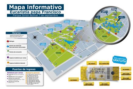 mapa bolivar