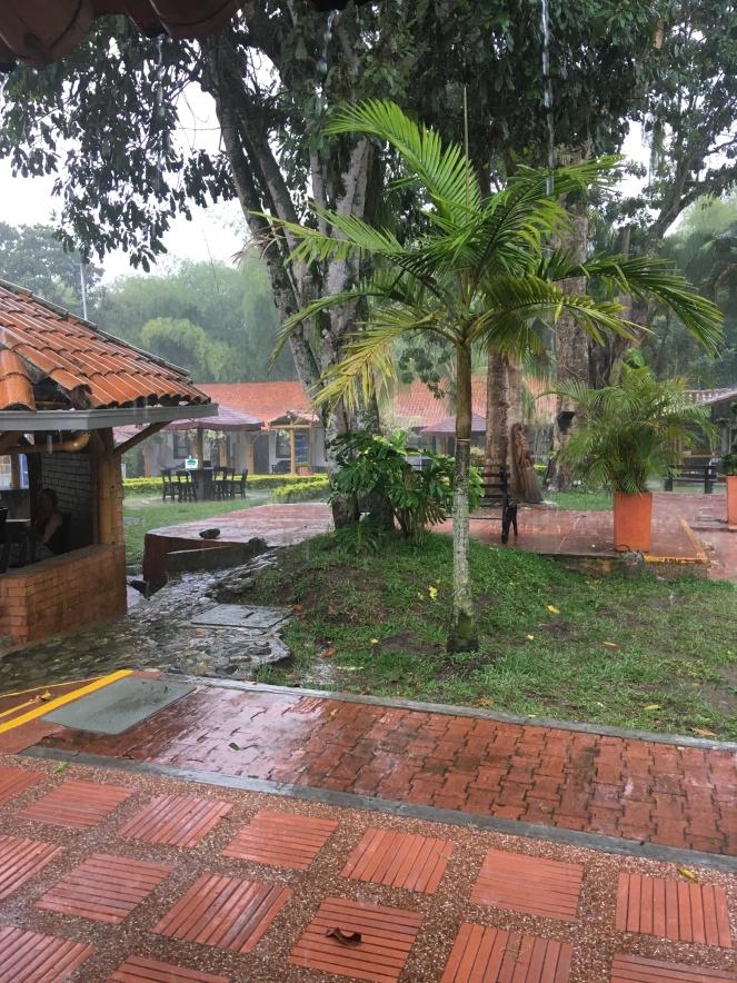 Raining camp