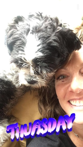 Me and dog